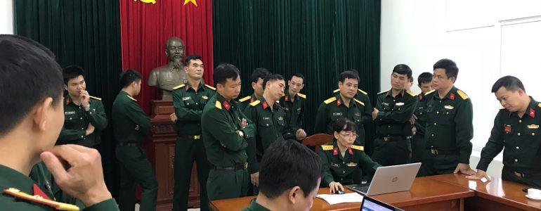 Giới thiệu phần mềm quản lý khách viếng Lăng chủ tịch Hồ Chí Minh với cán bộ Khu di tích K9