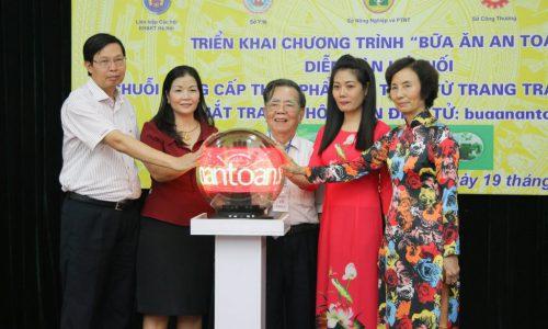 """ECPVietnam khai trương trang thông tin điện tử """"buaanantoan.vn"""" của Ủy ban nhân dân TP Hà Nội"""