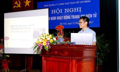 ECPVietnam nhận bằng khen của trưởng ban quản lý Lăng chủ tịch Hồ Chí Minh