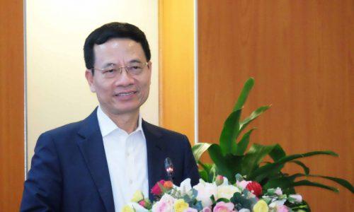 """Bộ trưởng Nguyễn Mạnh Hùng: """"Đại dịch Covid-19 tạo cơ hội trăm năm cho chuyển đổi số quốc gia"""""""