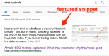 Tầm quan trọng của Featured Snippet và giải pháp tối ưu cho website